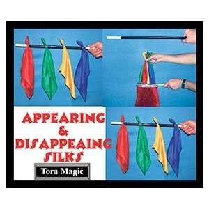 Disappearing Silks on Wand by Tora Magic  Toys & Games