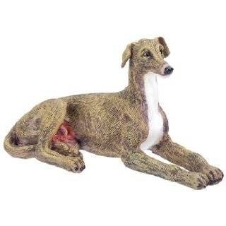 Greyhound Art Deco Dog Statue Sculpture Figurine