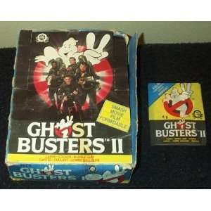 Ghost Busters II Movie 2 Trading Cards Box Toys & Games