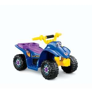 Fisher Price Power Wheels Lil Quad Electric Ride On, Battery Powered
