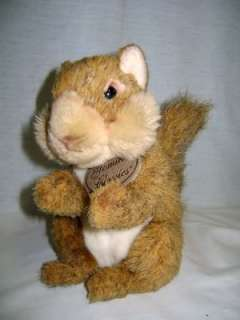 Berrie Yomiko Classics realistic SQUIRREL stuffed Animal Toy