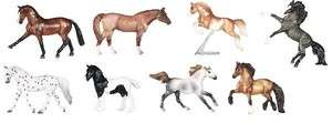 Breyer Horses Stablemates Single Set (8) #5908  NIB