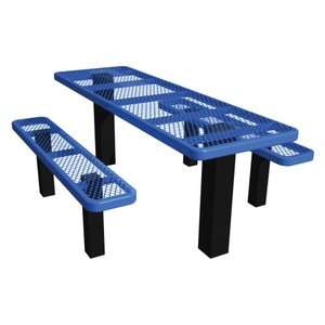 Metal ADA Commercial Grade Picnic Table