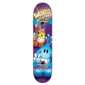 World Industries Whacking Willy Complete Skateboard   7.75 in.