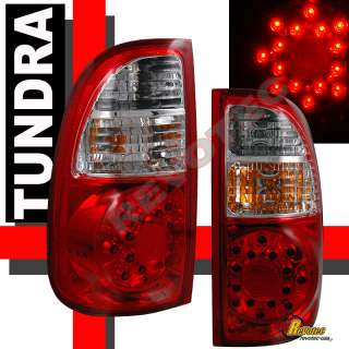 05 06 TOYOTA TUNDRA ACCESS CAB LED TAIL LIGHTS LAMP SR5
